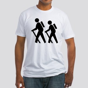 Hiking Fitted T-Shirt