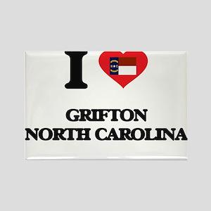 I love Grifton North Carolina Magnets