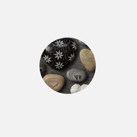 Love Stones Mini Button