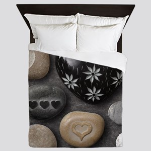 Love Stones Queen Duvet