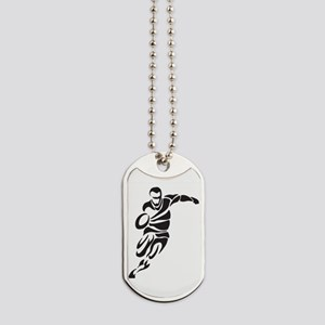 Rugby Player Dog Tags