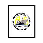 USS Howard W. Gilmore (AS 16) Framed Panel Print