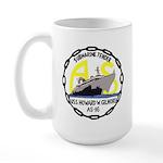USS Howard W. Gilmore (AS 16) Large Mug
