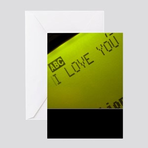 Love You But Don't Like You Anymore Greeting Card