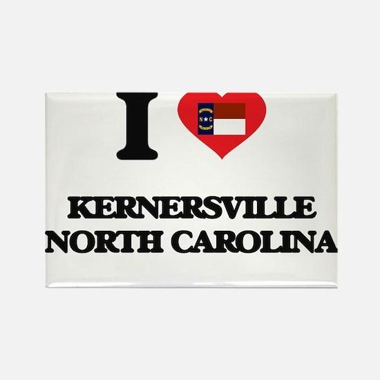 I love Kernersville North Carolina Magnets
