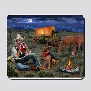 Lonesome Cowboy Mousepad