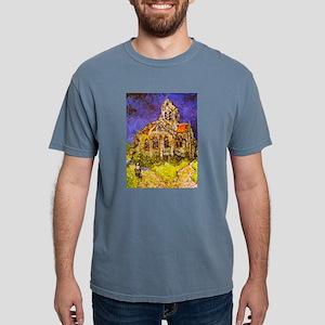 Van Gogh Church Auvers Geometric T-Shirt