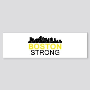Boston Strong - Skyline Bumper Sticker