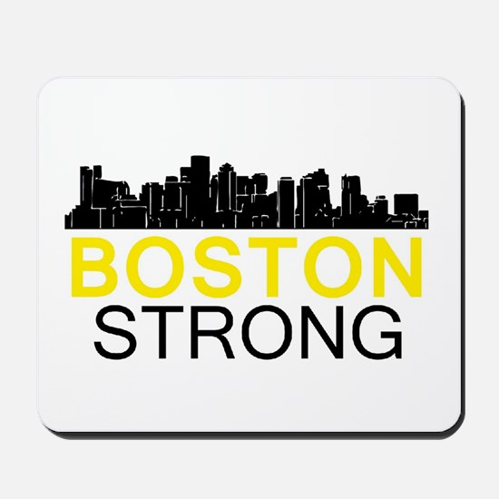 Boston Strong - Skyline Mousepad