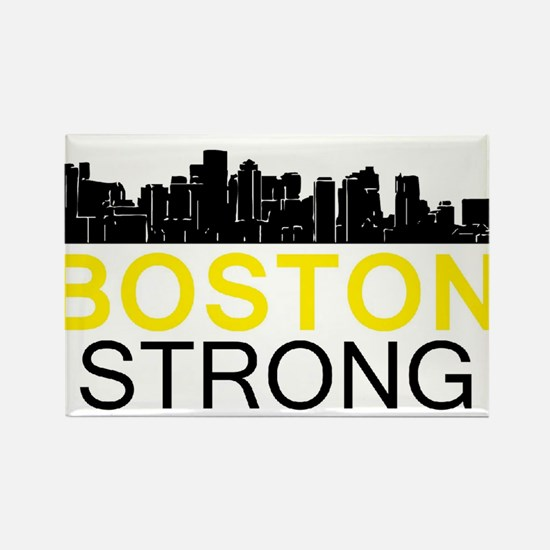 Boston Strong - Skyline Magnets