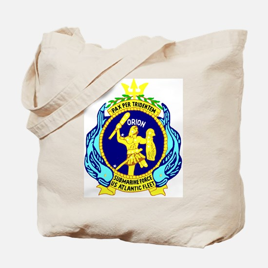 USS Orion (AS 18) Tote Bag