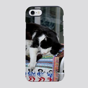 Cat napping in Portugal iPhone 7 Tough Case