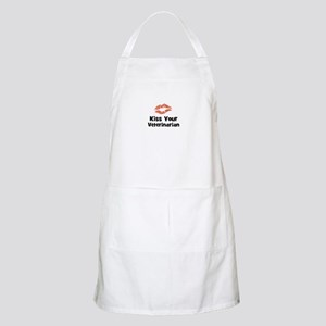 Kiss Your Veterinarian BBQ Apron