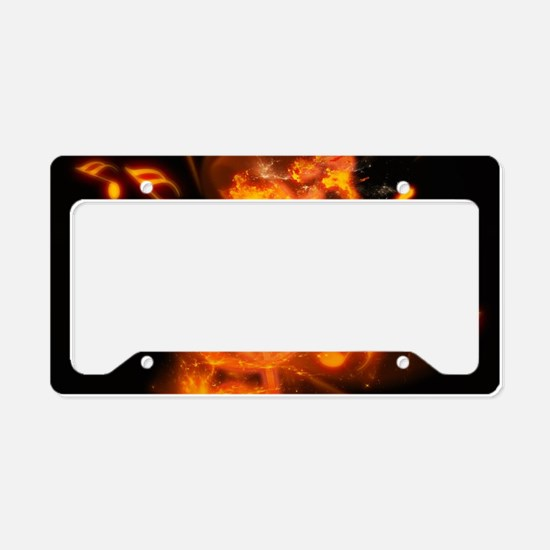 Awesome clef License Plate Holder