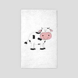 Happy Cow Area Rug