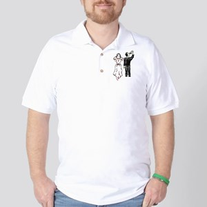 Drunken Groom Golf Shirt