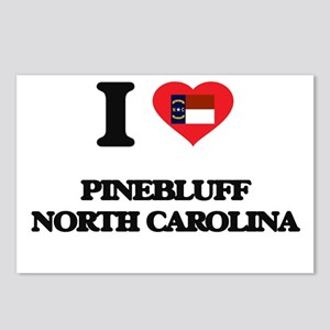 I love Pinebluff North Ca Postcards (Package of 8)