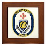 USS JARRETT Framed Tile