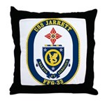 USS JARRETT Throw Pillow