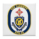 USS JARRETT Tile Coaster