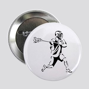 "Lacrosse Player Action 2.25"" Button"