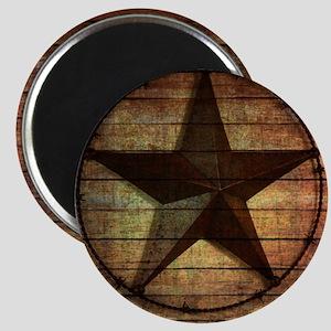 barn wood texas star Magnet