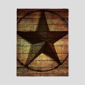 barn wood texas star Twin Duvet