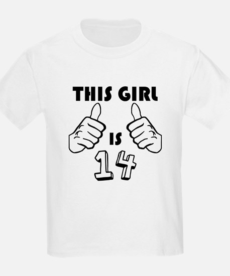 This Girl Is 14 T-Shirt