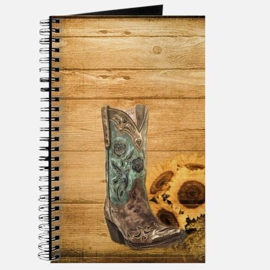 western cowboy sunflower Journal
