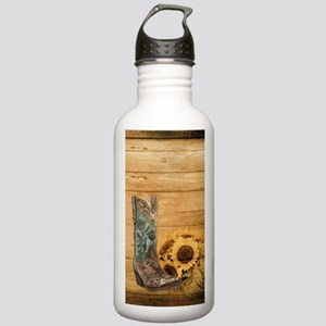 western cowboy sunflow Stainless Water Bottle 1.0L