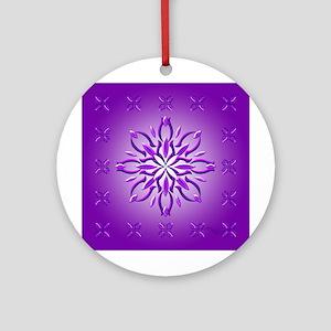 Amethyst Dream By Xen Ornament (round)