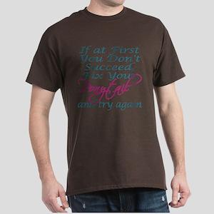 Fix Your Ponytail Dark T-Shirt