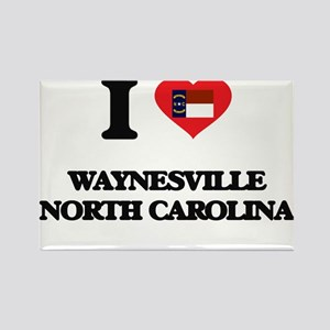 I love Waynesville North Carolina Magnets