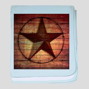 barn wood texas star baby blanket