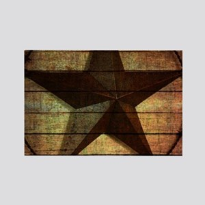 barn wood texas star Magnets