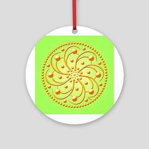 Sunny Spots by Xen™ Ornament (Round)