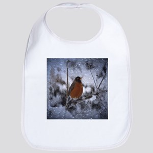 nature winter robin bird Bib