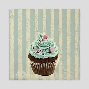 retro pattern cute cupcake Queen Duvet