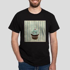 retro pattern cute cupcake T-Shirt