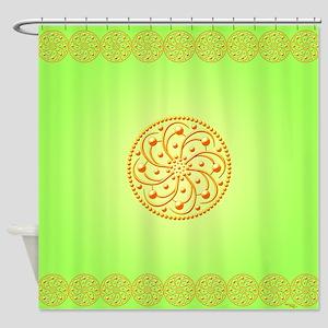 Sunny Spots by Xen™ Shower Curtain