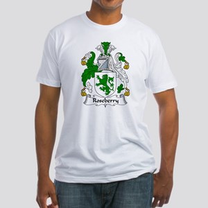Roseberry Family Crest Fitted T-Shirt
