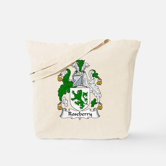 Roseberry Family Crest Tote Bag