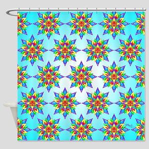 Rainbow Design II by Xennifer Shower Curtain
