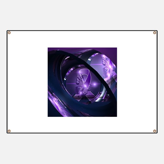 Cute Purple Banner