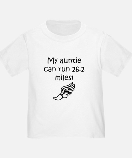 My Auntie Can Run 26.2 Miles T-Shirt