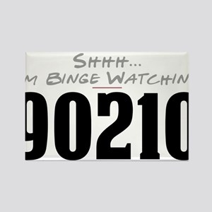 Shhh... I'm Binge Watching 90210 Rectangle Magnet