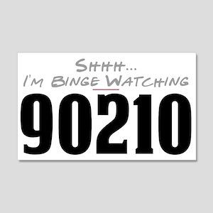 Shhh... I'm Binge Watching 90210 22x14 Wall Peel