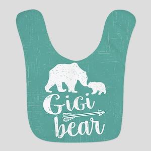 Gigi Bear Polyester Baby Bib