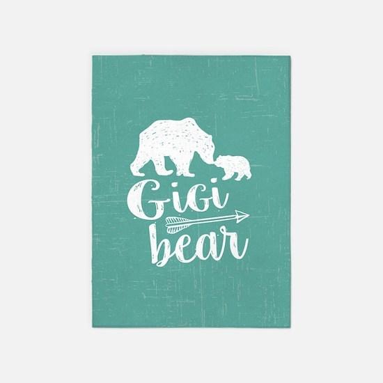 Gigi Bear 5'x7'Area Rug