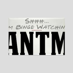 Shhh... I'm Binge Watching ANTM Rectangle Magnet